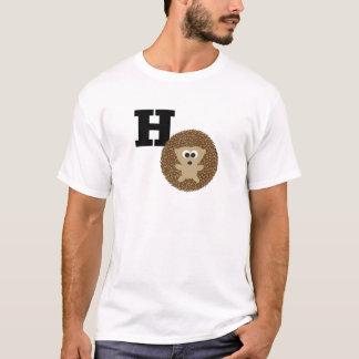Niedliches H ist für Igel T-Shirt