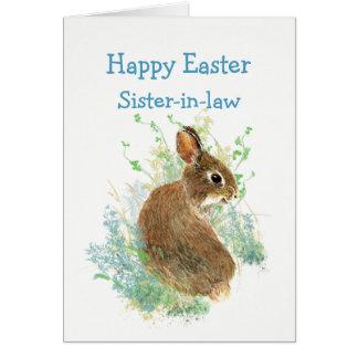 Niedliches Häschen-Kaninchen Karte