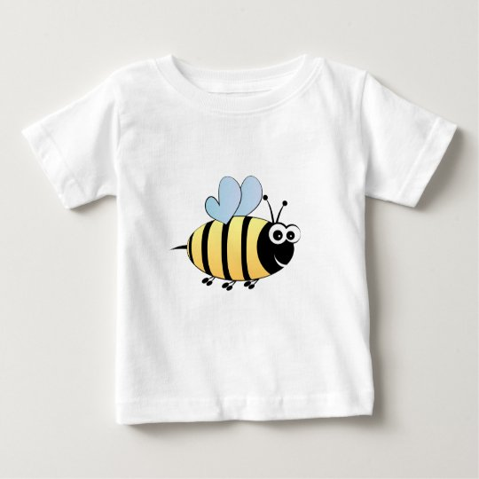 Niedliches Hummelbienen-Cartoon-Baby-Shirt Baby T-shirt