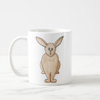 Niedliches Kaninchen Kaffeetasse