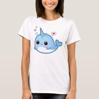 Niedliches kawaii Baby narwhal T-Shirt