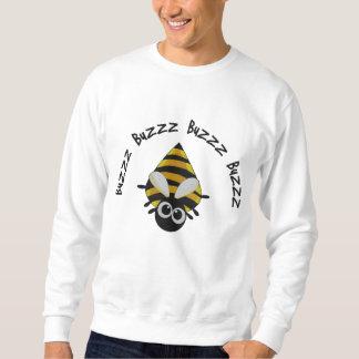 Niedliches kleines Bienen-Stickerei-Muster Besticktes Sweatshirt