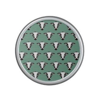 Niedliches Kuh-Gesichts-Muster Lautsprecher
