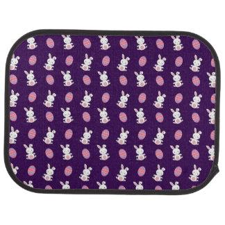 Niedliches lila Babyhäschen-Ostern-Muster Automatte