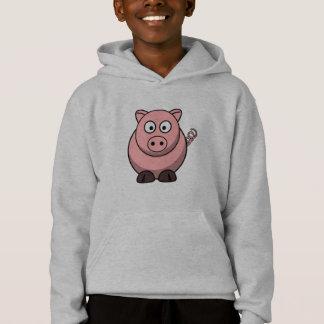 Niedliches lustiges Schwein Hoodie