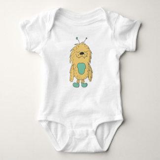 niedliches Monster Baby Strampler