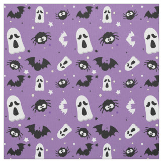 Niedliches Muster Halloweens Stoff