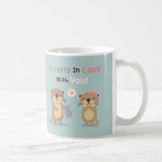 Niedliches Otterly in der Liebe mit Ihnen Tasse