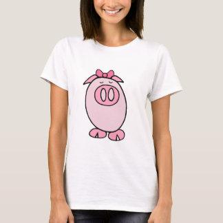 Niedliches Piggy T-Shirt
