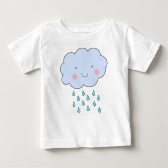niedliches Regenwolken-Baby-Shirt Baby T-shirt