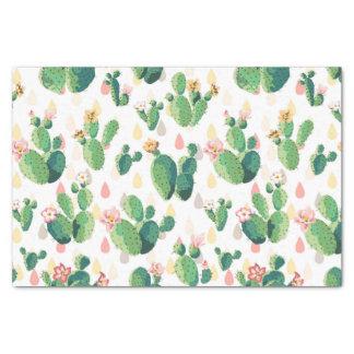 Niedliches reizendes Kaktus-Seidenpapier Seidenpapier