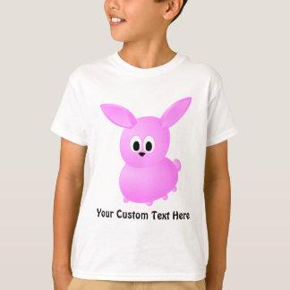 Niedliches rosa Häschen-Kaninchen T-Shirt