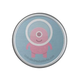Niedliches rosa Zyklop-alien Lautsprecher