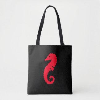 Niedliches rotes Seepferd 4Erika Tasche