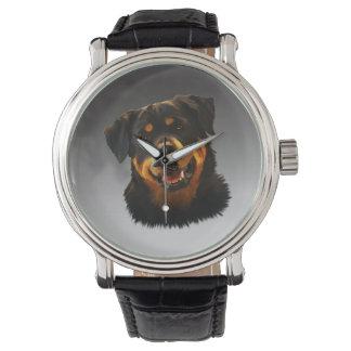 Niedliches Rottweiler Uhr