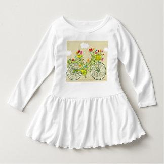 Niedliches Rüschekleid für Baby todlers Kleid