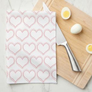 Niedliches Schatz-Muster-Küchen-Tuch Geschirrtuch