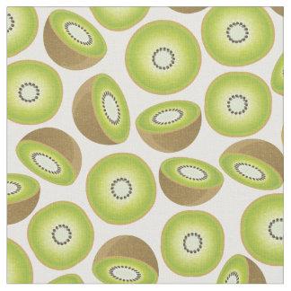 Niedliches Schnitt-Kiwi-Muster Stoff