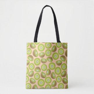 Niedliches Schnitt-Kiwi-Muster Tasche