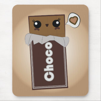 Niedliches Schokoladen-Bar Mousepad