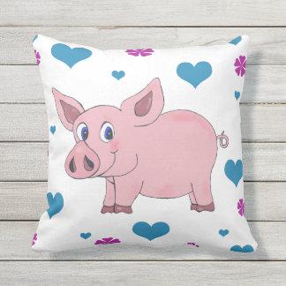 Niedliches Schwein-Kissen Kissen
