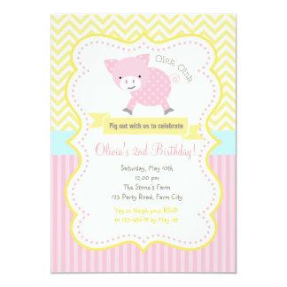 Niedliches Schwein/Piggy Karte