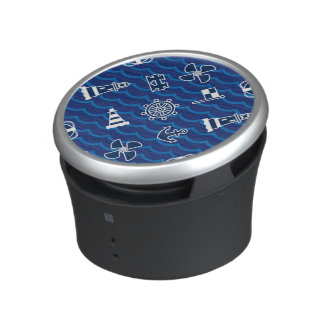Niedliches Seewellen-Muster Lautsprecher