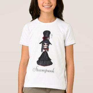 Niedliches Steampunk Goth Mädchen T-Shirt