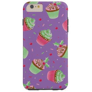Niedliches und süßes Weihnachten farbige kleine Tough iPhone 6 Plus Hülle