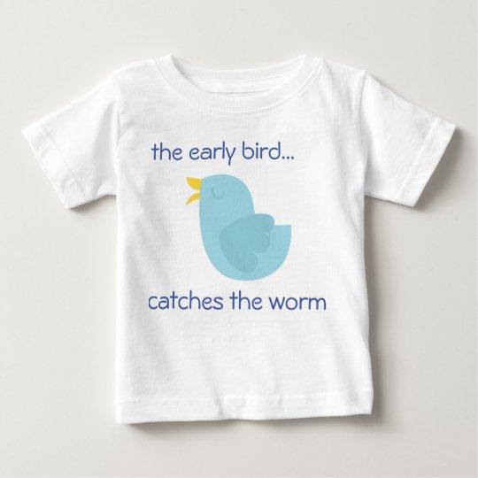 niedliches Vogelkleinkindt-shirt Baby T-shirt