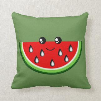 Niedliches Wassermelone-Kissen 41 x 41 cm Kissen