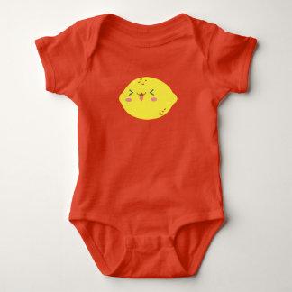 Niedliches Zitronenbaby wachsen Baby Strampler