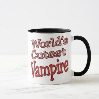 Niedlichstes der Vampire-Kostüm Halloween-Welt Tasse