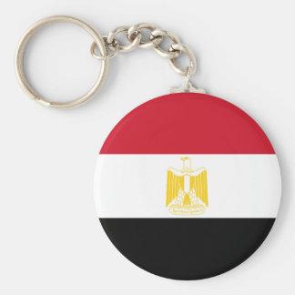 Niedrige Kosten! Ägypten-Flagge Standard Runder Schlüsselanhänger