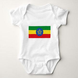 Niedrige Kosten! Äthiopien-Flagge Baby Strampler