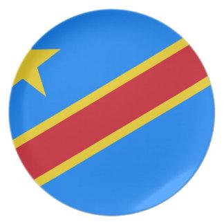 Niedrige Kosten! Der Kongo-Flagge Essteller