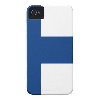 Niedrige Kosten! Finnland-Flagge iPhone 4 Case-Mate Hülle