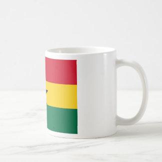 Niedrige Kosten! Ghana-Flagge Kaffeetasse