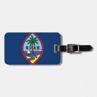 Niedrige Kosten! Guam-Flagge Gepäckanhänger