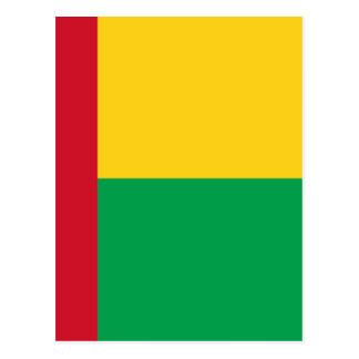 Niedrige Kosten! Guinea-Bissau Flagge Postkarte