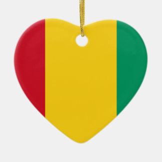 Niedrige Kosten! Guinea-Flagge Keramik Ornament