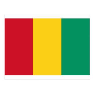 Niedrige Kosten! Guinea-Flagge Postkarte
