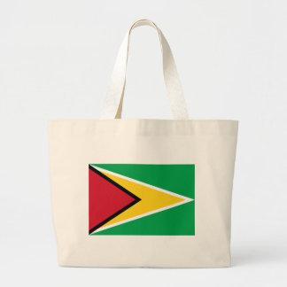 Niedrige Kosten! Guyana-Flagge Jumbo Stoffbeutel