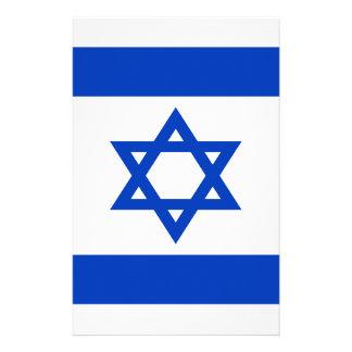 Niedrige Kosten! Israel-Flagge Briefpapier