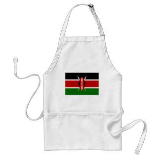 Niedrige Kosten! Kenia-Flagge Schürze