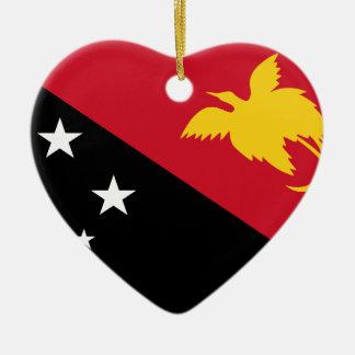 Niedrige Kosten! Papua-Neu-Guinea Flagge Keramik Ornament