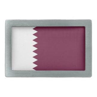 Niedrige Kosten! Qatar-Flagge Rechteckige Gürtelschnallen