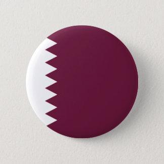 Niedrige Kosten! Qatar-Flagge Runder Button 5,7 Cm