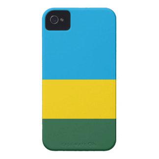 Niedrige Kosten! Ruanda-Flagge iPhone 4 Cover