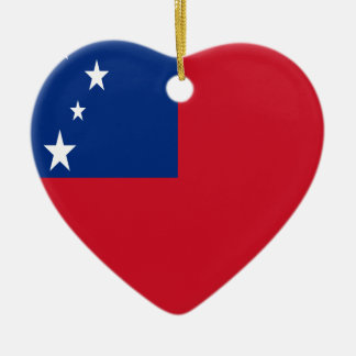 Niedrige Kosten! Samoa-Inseln Flagge Keramik Ornament